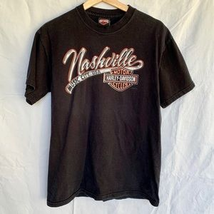 Nashville, TN Harley Davidson Shirt, Size Small